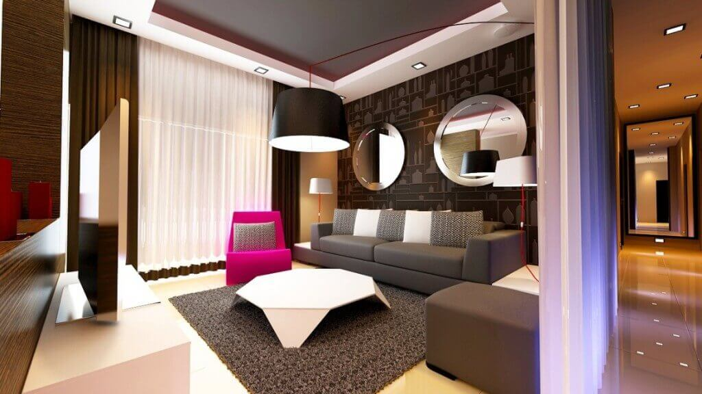 modern boutique hotel room helps generate revenue