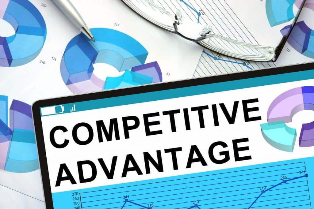 graphics representing competitive advantage created by re-evaluating a hotel's competitor set