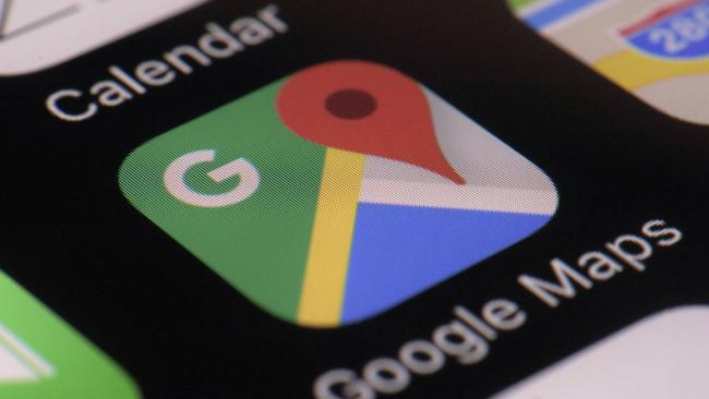 google maps icon showing where hotel property promotion ads can be seen