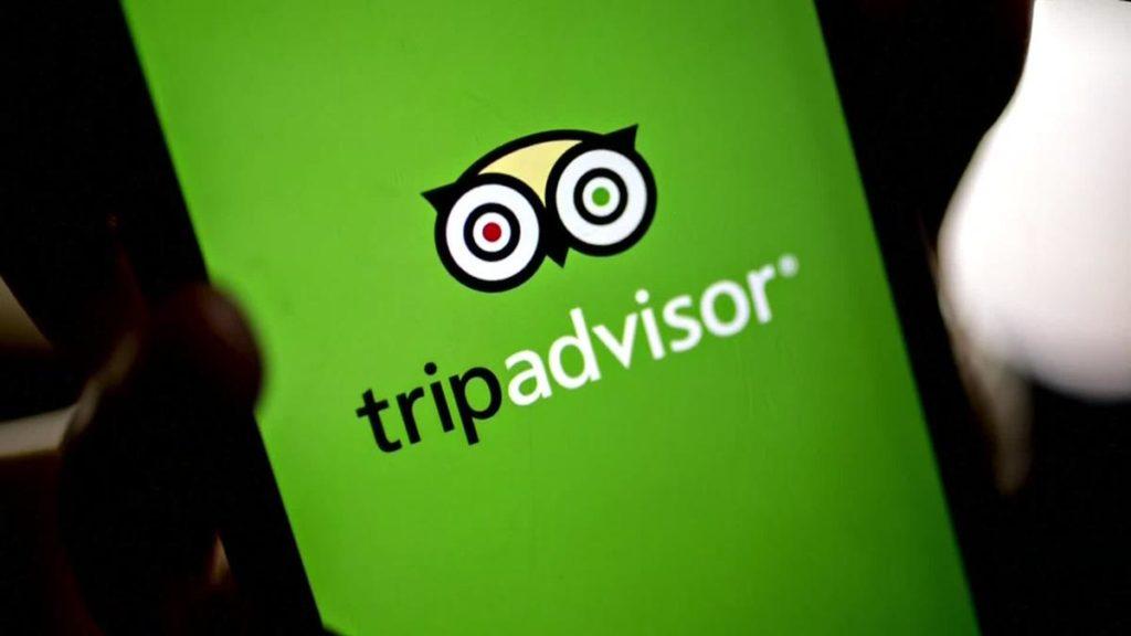 tripadvisor on a mobile phone