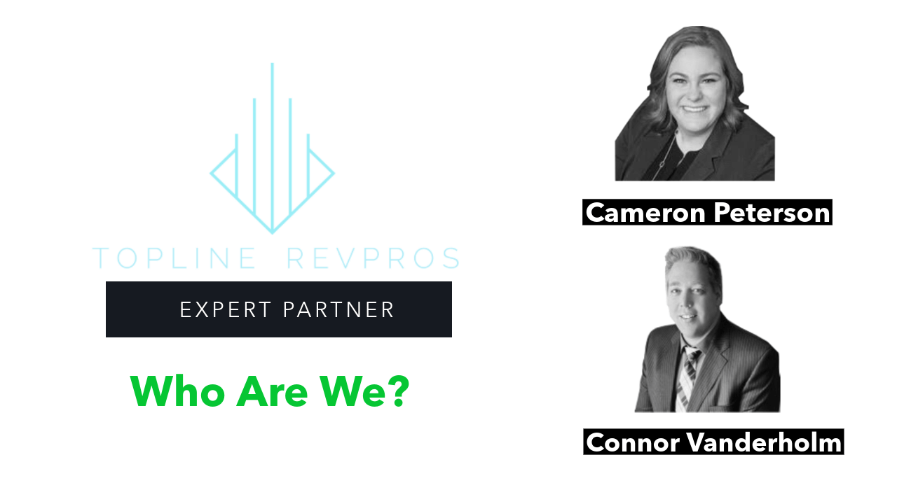 "Topline RevPros ""Who Are We"" - Welcoming our Latest Expert Partner"