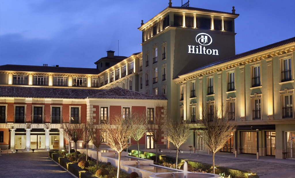 hilton hotel marketing