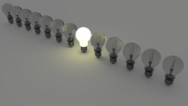 bright lightbul reflecting different hotel revenue strategies