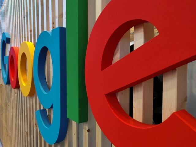 google written in large letters
