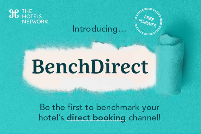 the hotels network benchdirect launch announcement benchmarking direct booking channels