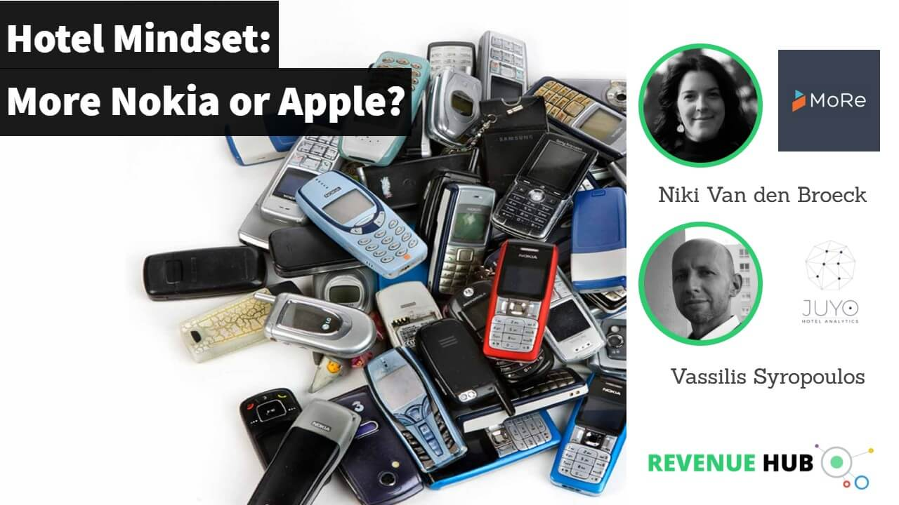 thumbnail of video interview about hotel mindset is it more nokia or apple