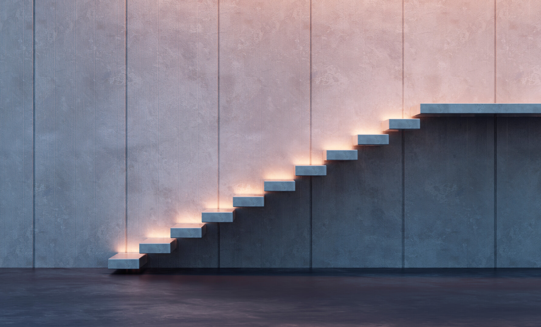steps representing the continual pricing approach required in towards hotel revenue management