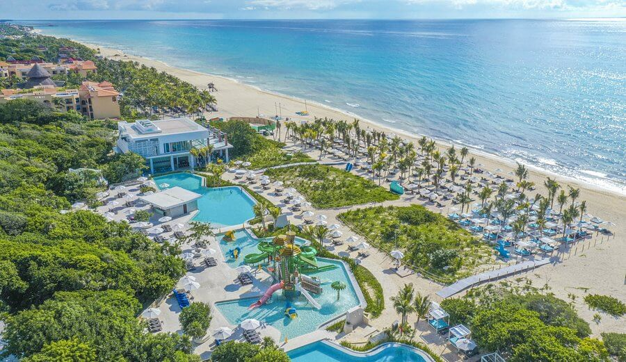 attractive picture of a sandos resort hotel can be used in google ads to increase demand
