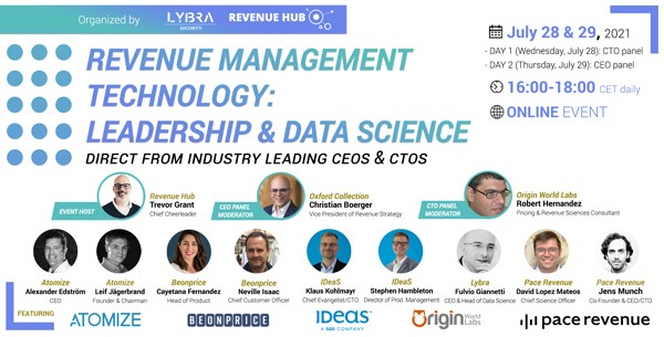 lybra event image revenue management and data science experts
